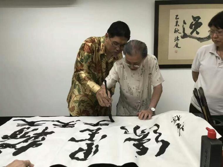 梅庵会喝咖啡吃糕点书法雅集meian calligraphy malaysia art is art gallery 4