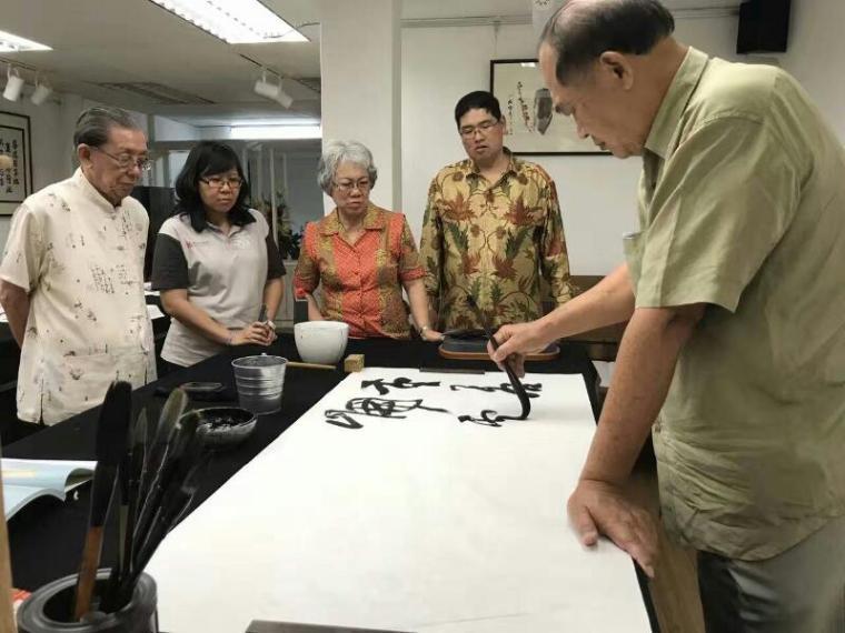 梅庵会喝咖啡吃糕点书法雅集meian calligraphy malaysia art is art gallery 8