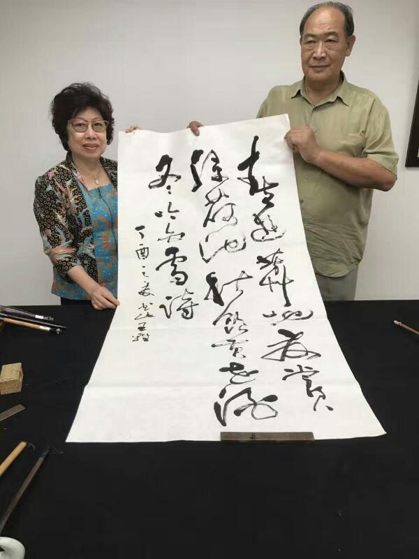 梅庵会喝咖啡吃糕点书法雅集meian calligraphy malaysia art is art gallery 9